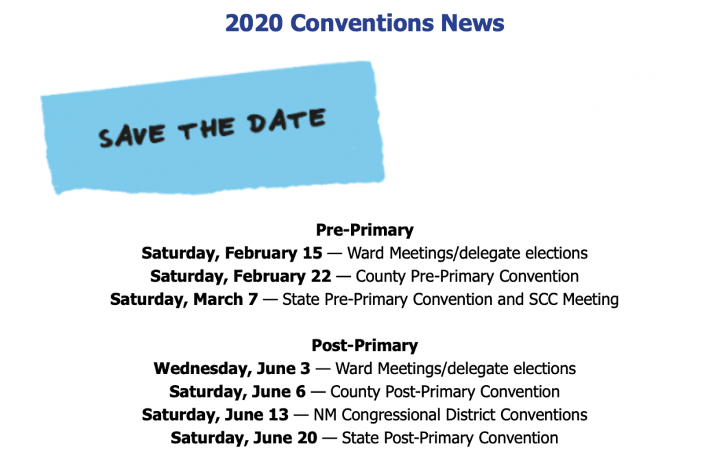 2020 Convention News
